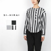SI-HIRAI スーヒライ GROSGRAIN COTTON FRILL BROUSE CHSS19-3506