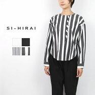 SI-HIRAI スーヒライ GROSGRAIN COTTON FRILL BROUSE CHSS19-3506
