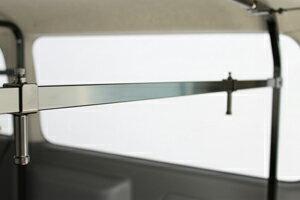200系ハイエース標準ボディ2/4WD[ロールーフ]S-GL専用職人棚オプションパーツ【インナーバーセット1本】◆代引注文不可