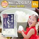 阿蘇産 こしひかり10kg(5kg×2袋)白米 熊本県 送料無料