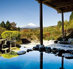 風そよぐ露天から雄大な富士を眺める。リンベル<コトギフト>セレクション [神奈川・箱根]...