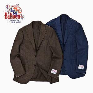 RINGJACKET(リングヂャケット)ModelNo-236BALLOON3Bバルーンジャケット【ブラウン・ネイビー】