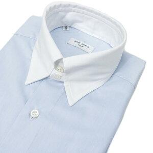 RINGJACKETNapoli【リングヂャケットナポリ】Shirts【シャツ】レギュラーカラー【ストライプ/ブルー】