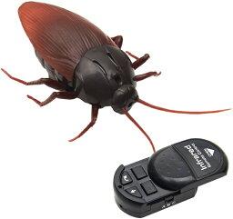 リアルに動く ゴキブリ ラジコン 子供用 電池式 LEDライト付き