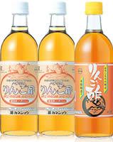 附帶喝tokiwa味道好的蘋果醋4種安排的醋喝的醋1000mL偏淡的容器的10倍濃縮有機蘋果醋使用健康醋飲料常盤藥品味道好的醋