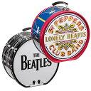 THE BEATLES【ビートルズ】バス ドラム型 ティン トート バッグ