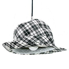 帽子がランプシェードとなった紳士的なドイツの ペンダントライトKARE Design ハット ランプ HA...