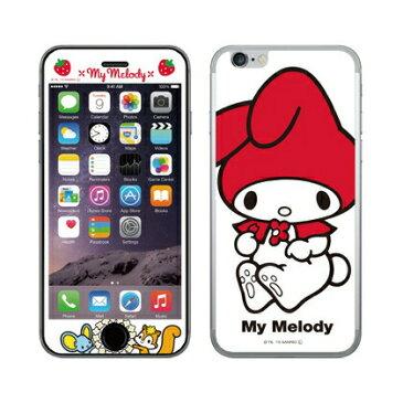 マイメロディ iPhone6s/6対応 ガラス スクリーンプロテクター SAN-543A / アップ