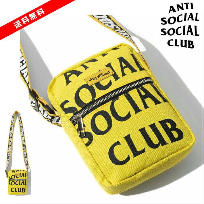 男女兼用バッグ, ショルダーバッグ・メッセンジャーバッグ  ASSC Its The Remix Yellow Side Bag Shoulder Bag ANTI SOCIAL SOCIAL CLUB Yellow ANTI SOCIAL SOCIAL CLUB