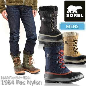 ◆2015-2016年秋冬新作◆SOREL 1964 PAC NYLON[全4色]【送料無料】…