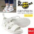 ドクターマーチン Dr.Martensショアー グリフォン ストラップサンダル[ホワイト](16821100)SHORE GRYPHON STRAP SANDALユニセックス(男女兼用)【靴】_11605E(ripe)レビューを書いて500円クーポンGET!