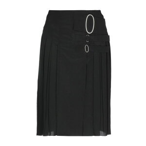 TOD'S Tods Ladies Skirt Knee Length Middle Pants Black
