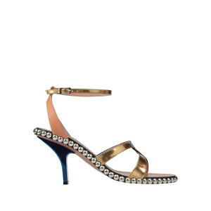 MARNI MARNI Ladies sandals shoes shoes gold