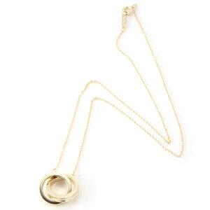 【免费送货】Tiffany 1837系列1837互锁圈吊坠项链18YG 23579197女士配饰礼物生日礼物
