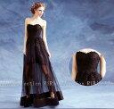 ドレス ブラック BLACK DORES  プライズメイド 欧米人気 ドレス カラードレス 結婚式 披露宴 刺繍/ プリンセスライン/ミニドレス/二次会/パーティードレス/ビスチェウエディングドレス/マタニティウエディングドレス