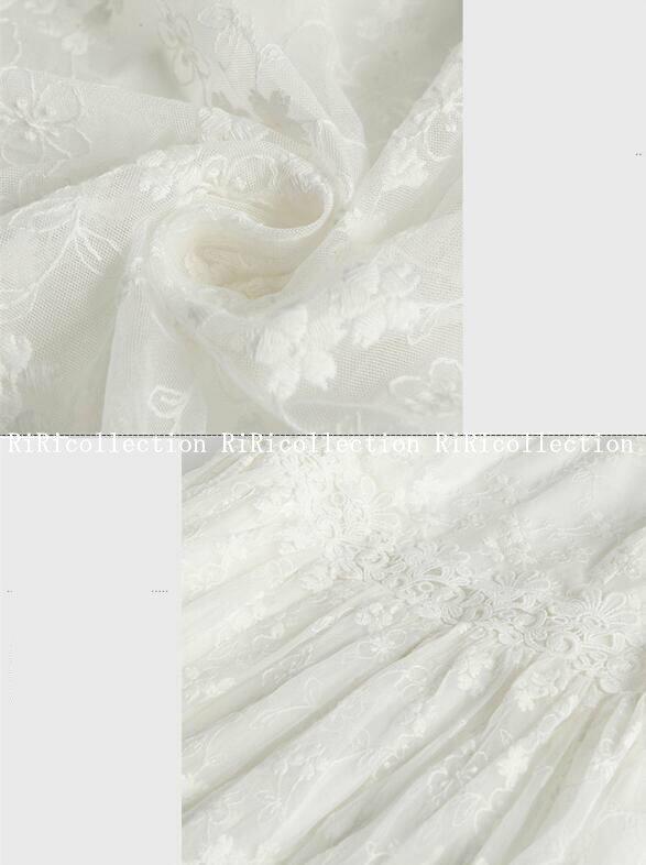 ウェディングドレス 着丈肩から約133CM シンプル上品 二次会ドレス パーティードレス ドレス 結婚式 披露宴 刺繍/プリンセスライン/エンパイアドレス/二次会/海外旅行/マーメイドドレス dress-262 ナチュナルウエディング ガーデンウエディング 海辺 リゾート