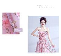 ウェディングドレス結婚式披露宴二次会/パーティードレス/ビスチェウエディングドレス/マタニティウエディングドレス♪DORES-001