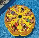 新作 巨大ピザ浮き輪 約180CM 大きいサイズの PIZA...
