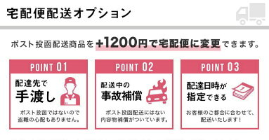 (北海道・離島専用)配送方法を宅配便に変更