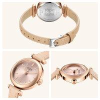 腕時計レディース防水レディースウォッチウォッチおしゃれかわいいシンプル人気ファッションアクセサリーカジュアルオフィスグレー上品パープル革ベルト