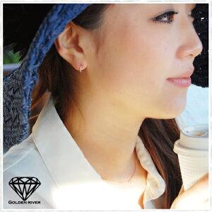 【送料無料】ダイヤモンドエタニティピアススK18/K14ゴールドネックレス【ラッピング無料】【_包装】【ホワイトデー】※予約商品※