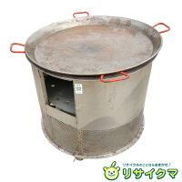 【中古】D▼業務用パエリアパエリア鍋パエリアパン鉄なべ鍋Φ810mm(16172)