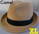 4147583■帽子 2size7colors 【定番】スタイル ストローハット 中折れハット ペーパーストローハット メンズ レディース BIGサイズ 大きいサイズ あり