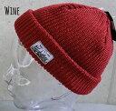 5685319■a2w93 帽子 6colors ショート ワッチ ニット帽 ビーニー イスラムワッチ ワッペン フィッシャーマン メンズ レディース 男女兼用 プチプラ