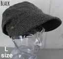 4960447■3s0s 帽子 2colors 2サイズ展開 ストライプ ルーズ クロッシェ キャスケット コットン プチプラ ゆったりシルエット 紫外線対策 Lサイズ