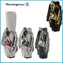 ☆2019年 Munsing wear マンシングウェア MQBNJJ04 キャディーバッグ ブラッ...