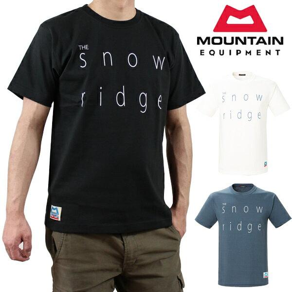 マウンテンイクイップメント スノーリッジ Tシャツ