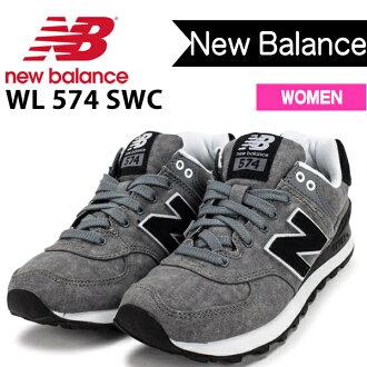 供新平衡574女子的運動鞋NEW BALANCE WL574SWC女性使用的鞋