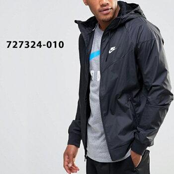 ナイキ/メンズ/アウター/ジャケット/ナイロン/フル/ジップ/ジャケット/Nike/Windbreaker/Black/727324-010/nike90