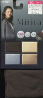 特価品【グンゼ】Mirica80デニールタイツ:美発色