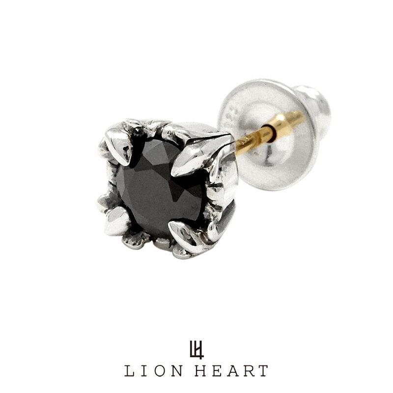 メンズジュエリー・アクセサリー, ピアス  BASIC KINGDOM (x) 01EA0181BK LION HEART 1 LH ( )