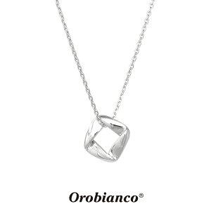 オロビアンコ ネックレス OREN043S (シルバー) シルバー925 チェーン45+5cm Orobianco Necklace ブランド メンズ レディース ギフト(誕生日 父の日 プレゼント) 送料無料