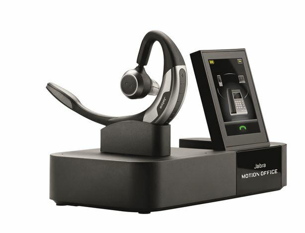 Jabra Motion Office ワイヤレスヘッドセット 2.4型タッチパネル搭載モデル:RISO-SYA