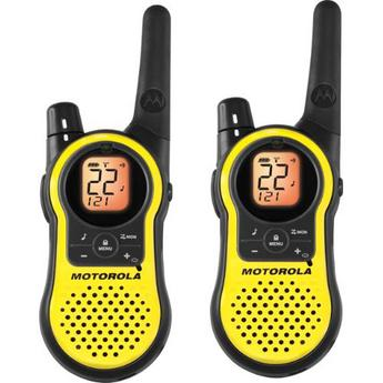 Motorola MH230R 23-Mile(37キロ) Range 22-チャンネル トランシーバー 2台セット
