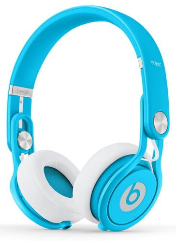 Beats by Dr.Dre beats mixr neon blue ヘッドフォン ブルーカ...