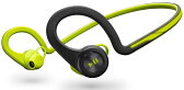 【国内正規品】 PLANTRONICS 両耳 Bluetooth ワイヤレスヘッドセット BackBeat Fit Green BACKBEATFIT-GR