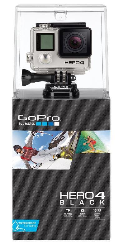 Gopro HERO 4 ゴープロブラックエディション アドベンチャー 直輸入版:RISO-SYA