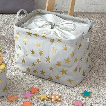 HEMING'S ヘミングス Pilier(ピリエ) enfant(アンファン) STAR 収納ボックス スクエアショート(幅35×高さ26×奥行26) 【袋ラッピング対応】 /収納ボックス/おしゃれ/スクエア/収納/ボックス/布/キャンバス/かわいい/