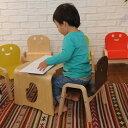キコリのキッズテーブル+小いすセット キッズ テーブル チェ...