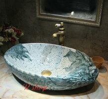 高級洗面台洗面ボウルセット洗面ボール陶器手水鉢.手洗器手洗い鉢洗面器蛇口排水金具付き