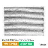 エアコンフィルター ラフェスタ B30 NB30 AC 純正交換式 エアコン フィルター クリーンフィルター エアーフィルター 花粉 防臭 高性能 強力脱臭 AY684-NS009/AY685-NS009