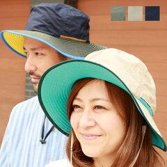 撥水テフロンボディ、肌に触れる部分には速乾素材のクールエバーを使った帽子 TEFLON COOLEVER SAFARI HAT [BASIQUENTI] アウトドア キャンプ レインハット フェス 日除け ツバ広 雨 紫外線 対策 あす楽商品
