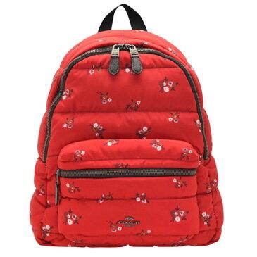 コーチ COACH リュックサック バックパック 花柄 アウトレット f30667qbrem | バック バッグ 鞄 かばん 通勤 レディース かわいい 可愛い おしゃれ オシャレ ブランド キルティングナイロン