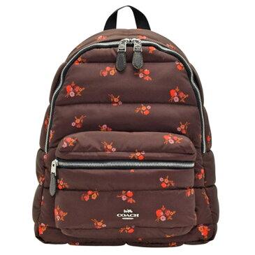 コーチ COACH リュックサック バックパック 花柄 アウトレット f30667svfcg | バック バッグ 鞄 かばん 通勤 レディース かわいい 可愛い おしゃれ オシャレ ブランド キルティングナイロン