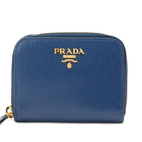 財布・ケース, レディースコインケース  PRADA 1mm268vimo-blue-zz