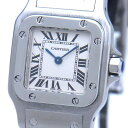 Cartier SS white サントスガルベSM W20056D6【中古】